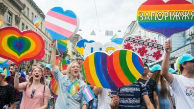 Ukrainian LGBTQIA+ Protesters to Throw Rave in Kyiv Outside Presidents Office