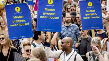 The Dutch events industry hosts Unmute Us! protests