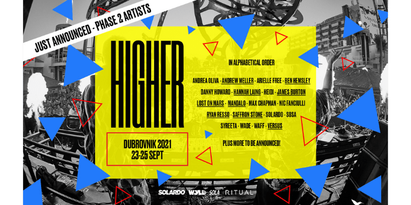 Exclusive Interview - Solardo on their 'HIGHER' event series and more