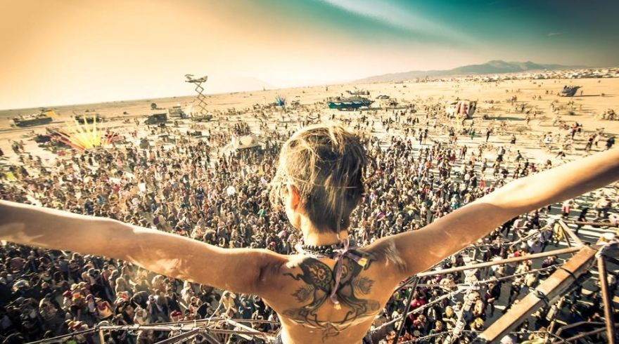 An Unofficial Burning Man Event Took Place in the Nevada Desert at the Weekend!