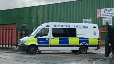 Man charged for attempting to pee on police at an illegal rave