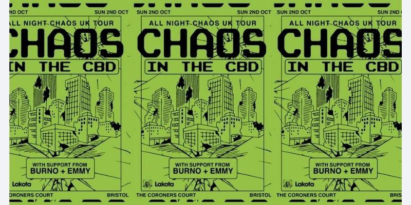 All Night Chaos at Lakota & Coroners Court, Bristol