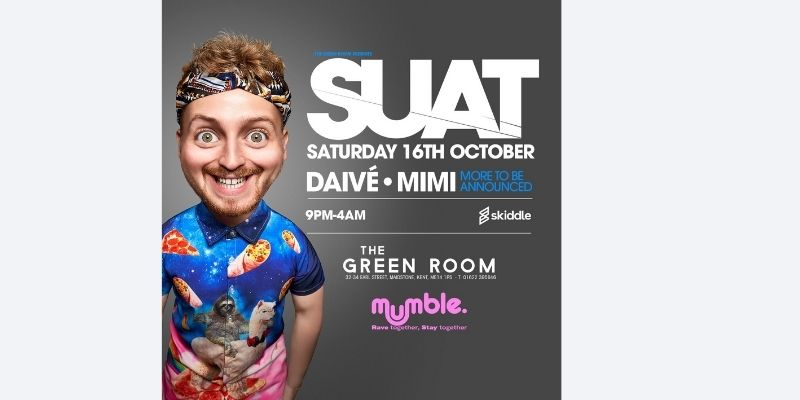 Suat at The Green Room, Maidstone - Kent