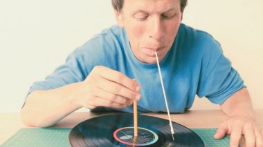 You can now play vinyl with your teeth!