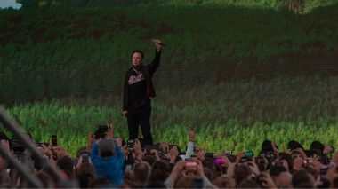 Elon Musk hosts a massive rave to open Berlin Tesla factory