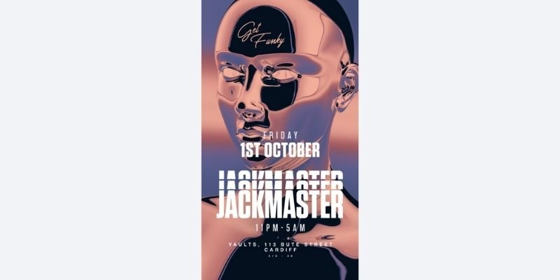Get Funky with Jackmaster - The Vaults - Cardiff