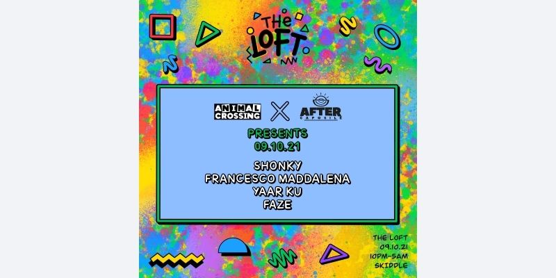 Animal Crossing x After Capsule - The Loft - Manchester