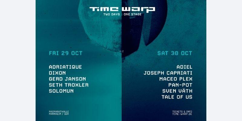 Time Warp 2021 Lineup